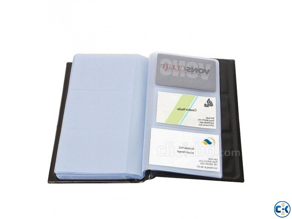 Business Card Holder Visiting Card Holder 300 Card | ClickBD large image 2