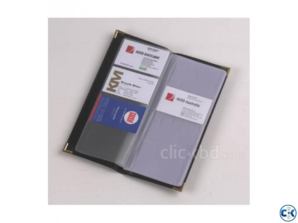 Visiting Card Holder Business Card Holder 400 Card  | ClickBD large image 0
