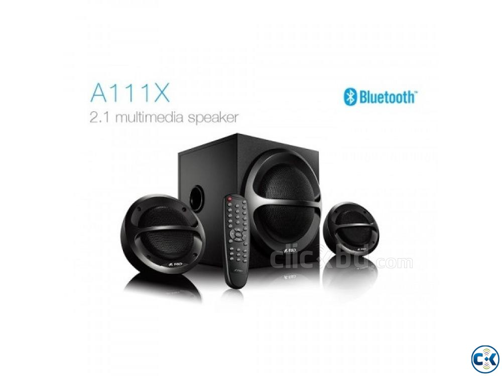 F D A111X 2.1 Channel Multimedia Bluetooth Speakers | ClickBD large image 0