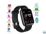 116 Plus Smart watch Bracelets Fitness Tracker Heart Rate St