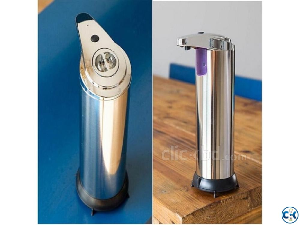 Automatic Sensor Soap Dispenser | ClickBD large image 1