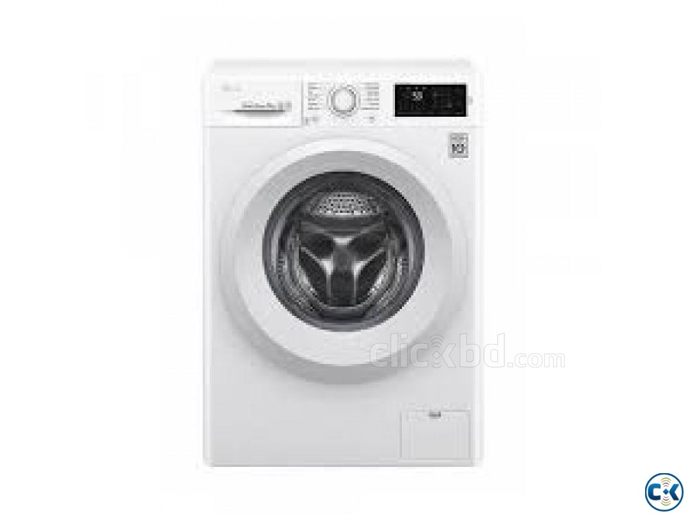 LG F2J5QNP3W FRONT LOAD WASHING MACHINE 7KG | ClickBD large image 0