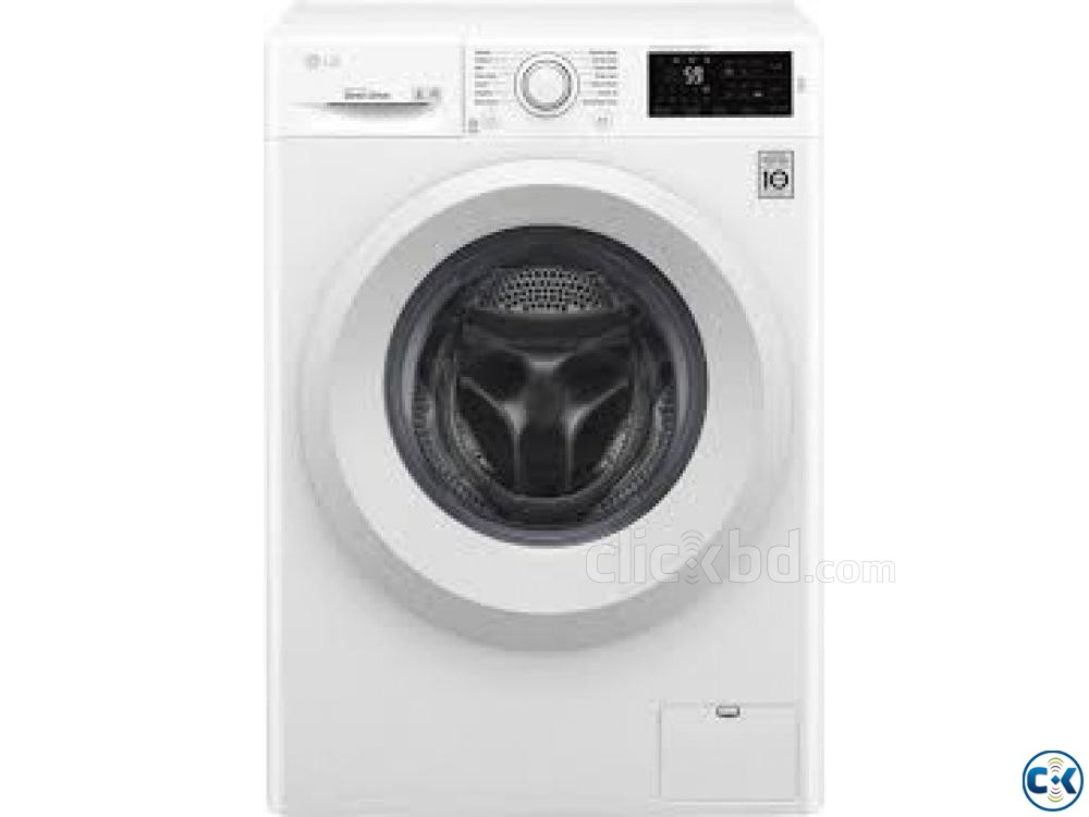 LG F2J5QNP3W FRONT LOAD WASHING MACHINE 7KG | ClickBD large image 2
