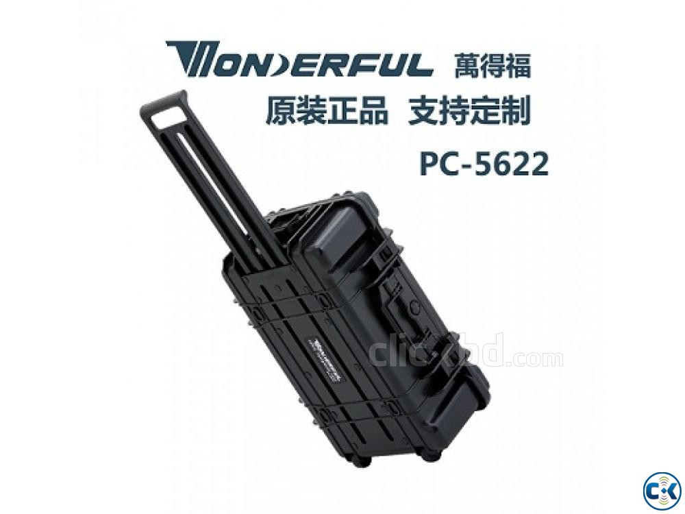 WONDERFUL PC-5622 Hard Case with Trolley for Camera | ClickBD large image 3