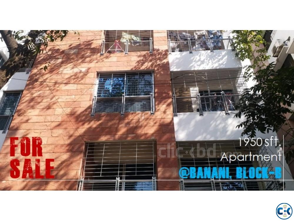 1950 sqft apartment used for Sale at Banani North Block B | ClickBD large image 0