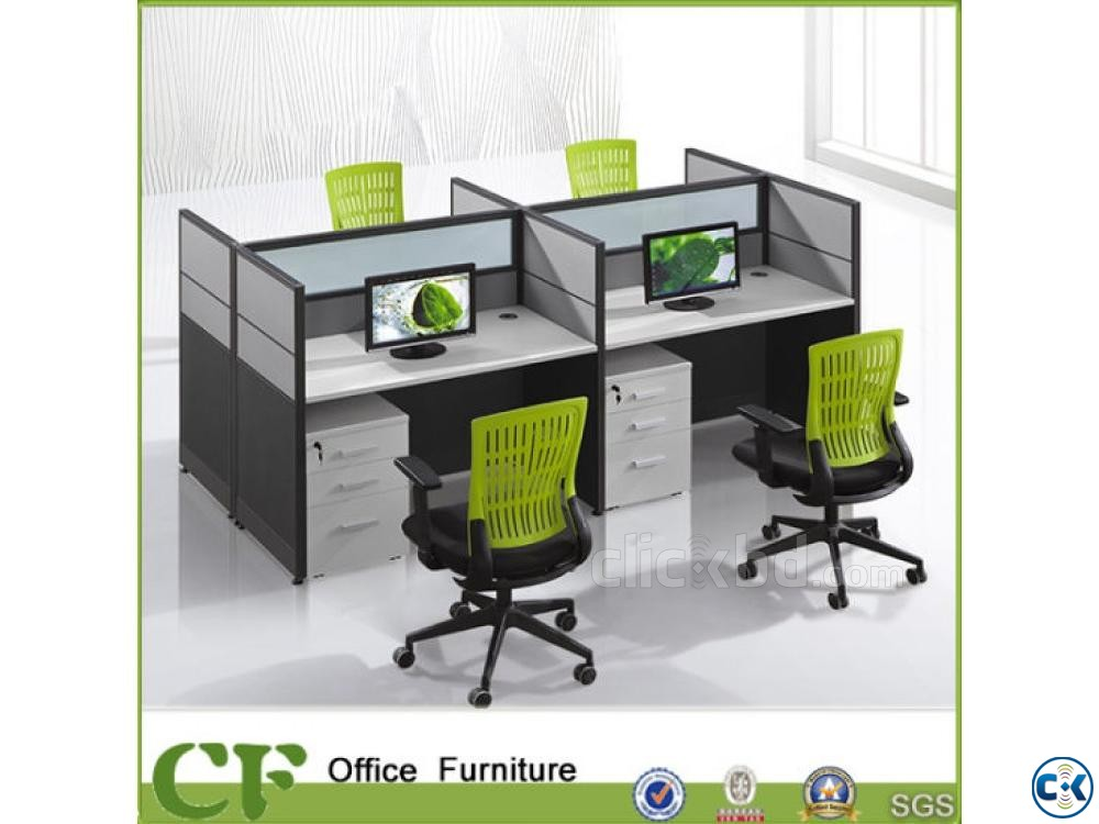 WorkStation partition Furniture Decoration | ClickBD large image 2