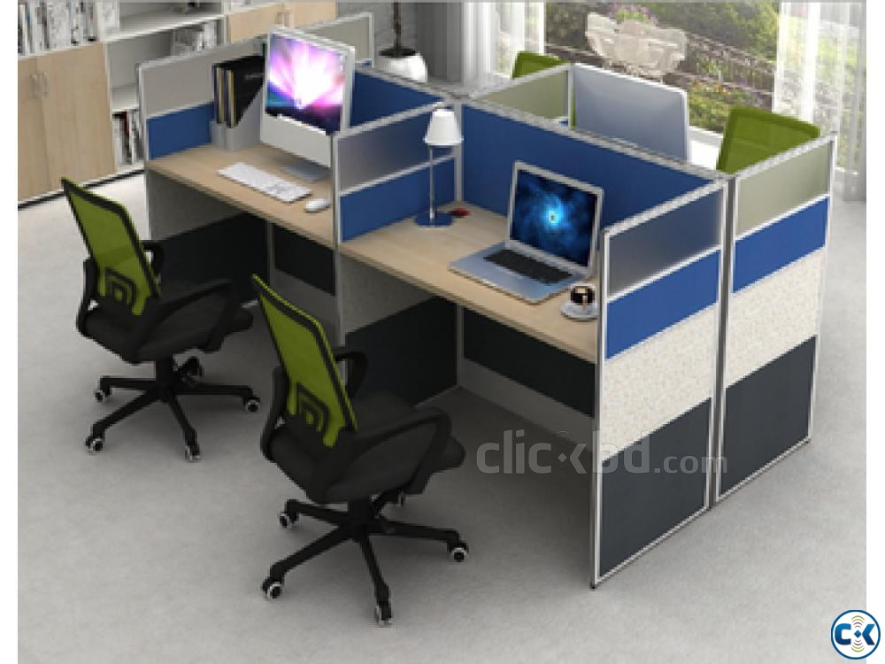 WorkStation partition Furniture Decoration | ClickBD large image 3