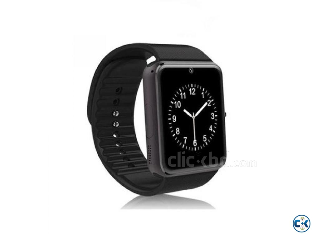 Smart Watch Men GT08 With Touch Screen | ClickBD large image 2