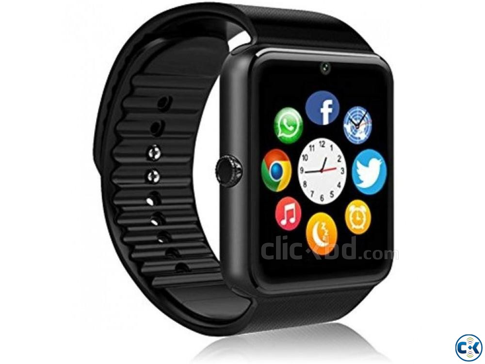 Smart Watch Men GT08 With Touch Screen | ClickBD large image 3
