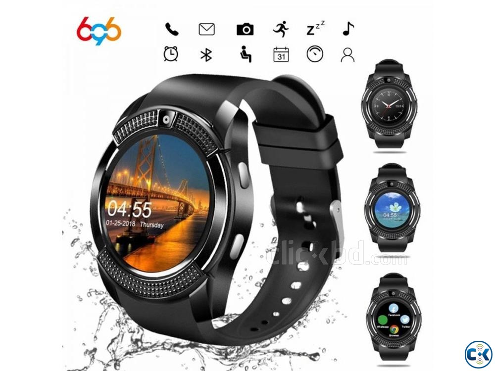 Men s Smart Bluetooth Sport Watches | ClickBD large image 0