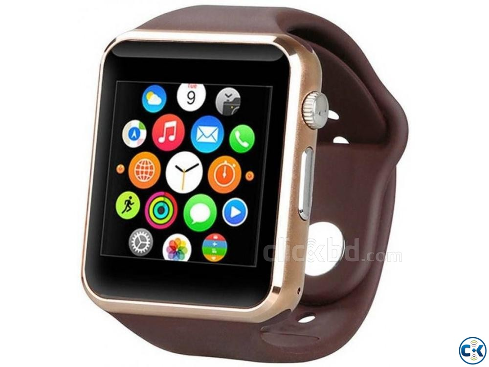 Bluetooth Smart Watch Sim supported | ClickBD large image 0