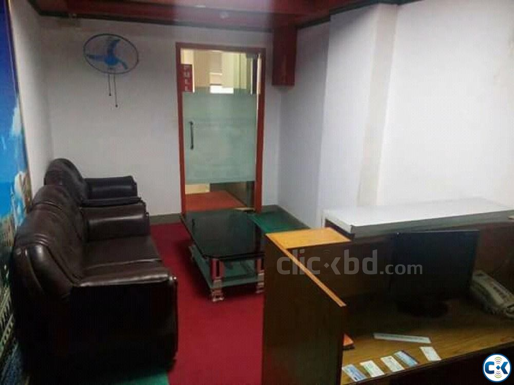 2200sft Beautiful Office Space For Rent Banani | ClickBD large image 1