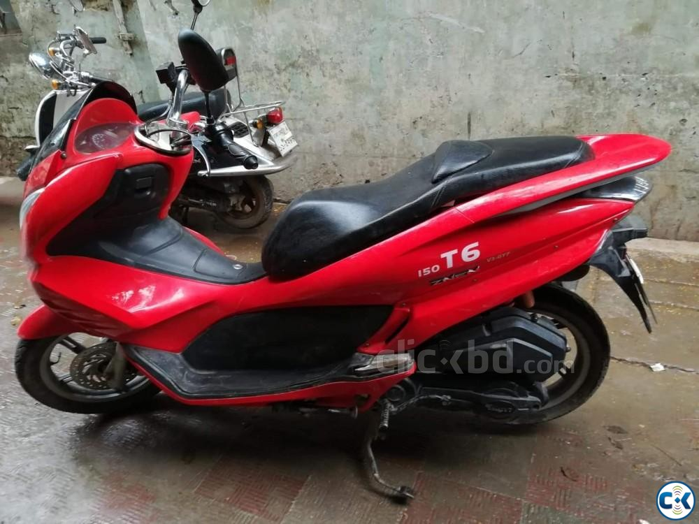 ZNEN T6-2017 MODEL -150CC SCOOTER NEW CONDITION  | ClickBD large image 0