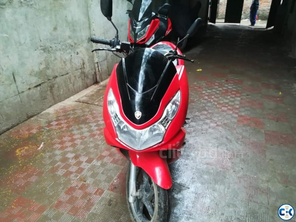 ZNEN T6-2017 MODEL -150CC SCOOTER NEW CONDITION  | ClickBD large image 1