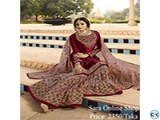 Semi stitched weightless Georgette Gown for ladies