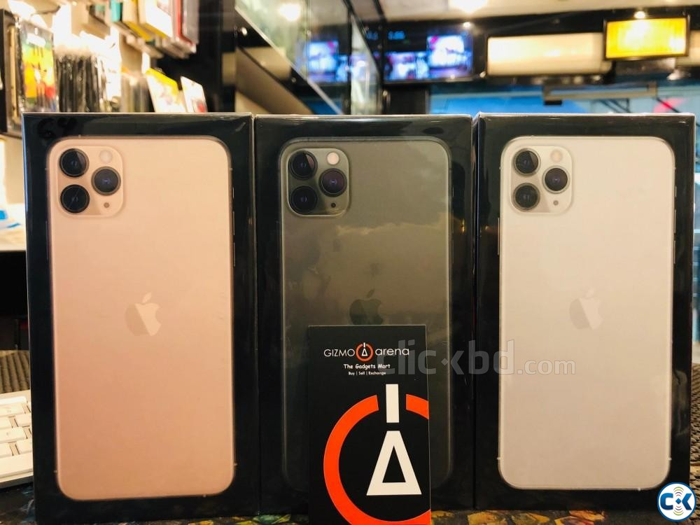IPHONE 11 PRO MAX 256GB DUAL | ClickBD large image 0