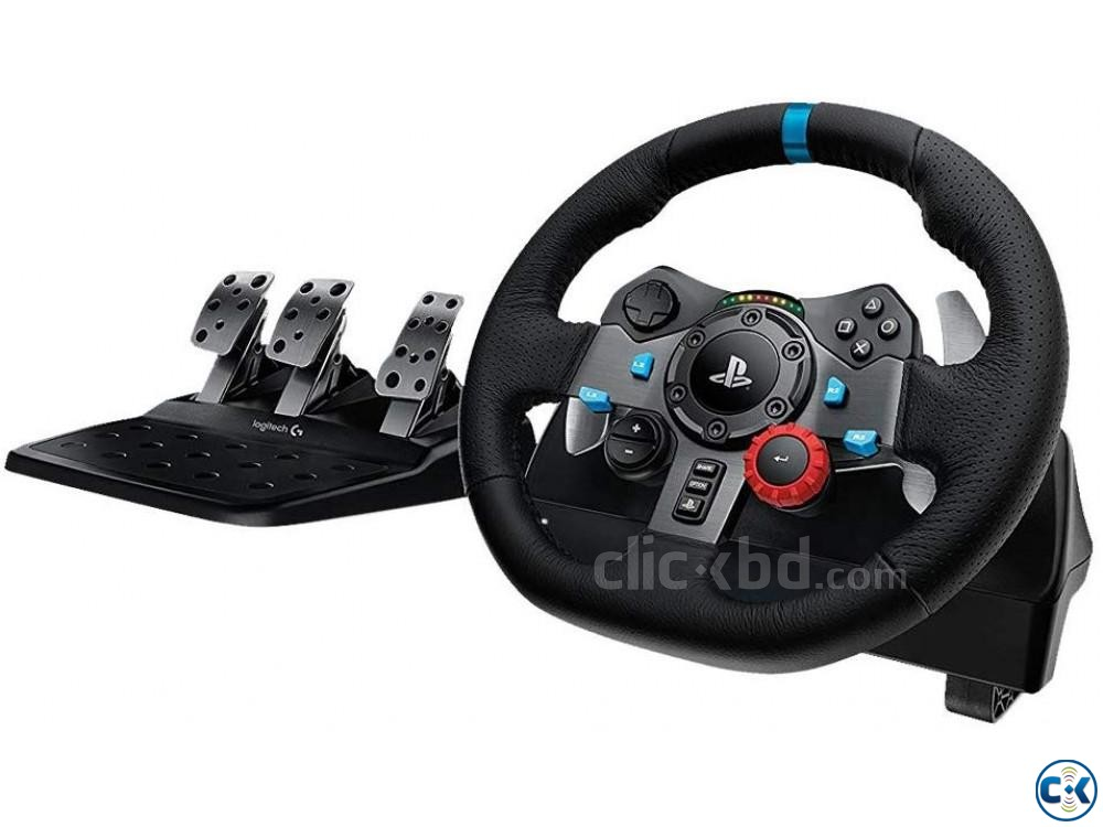 Logitech Driving Force G29 Racing Wheel for PlayStation | ClickBD large image 0
