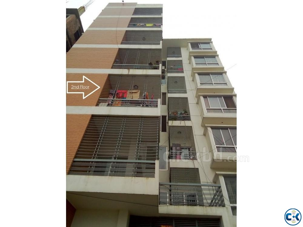 2000sft apartment Used for sale at Boshundhora Block I | ClickBD large image 0