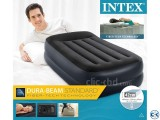 Intex Dura Beam Standard Inflatable Air Bed 16.5 Inch Height