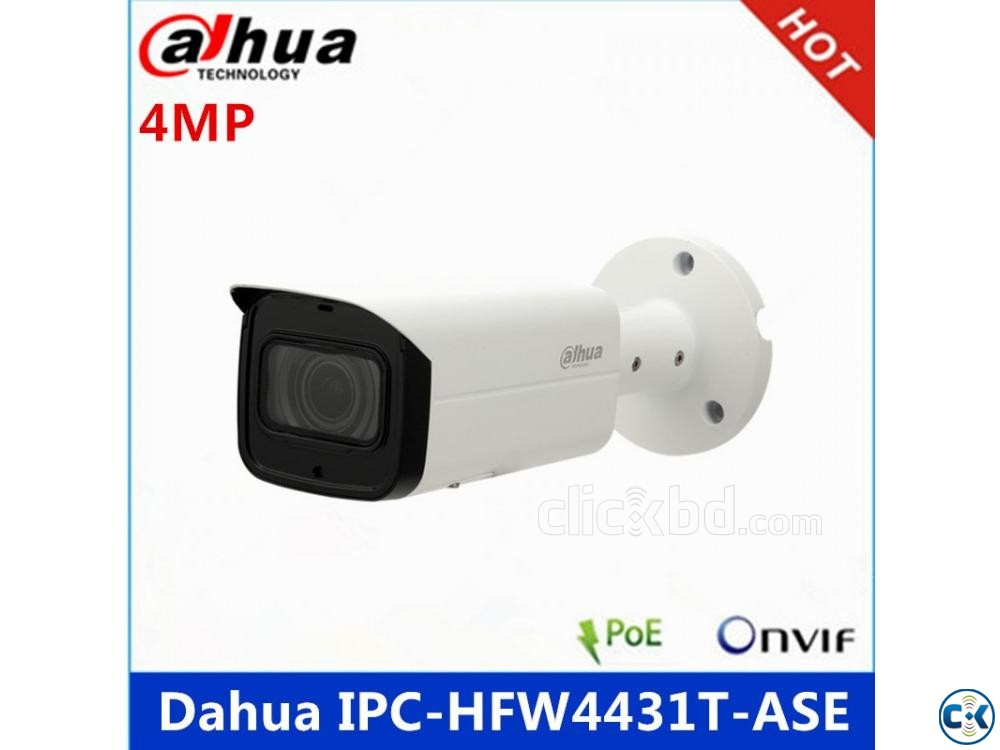Dahua HFW4431T-ASE 4MP Bullet IP Camera | ClickBD large image 0
