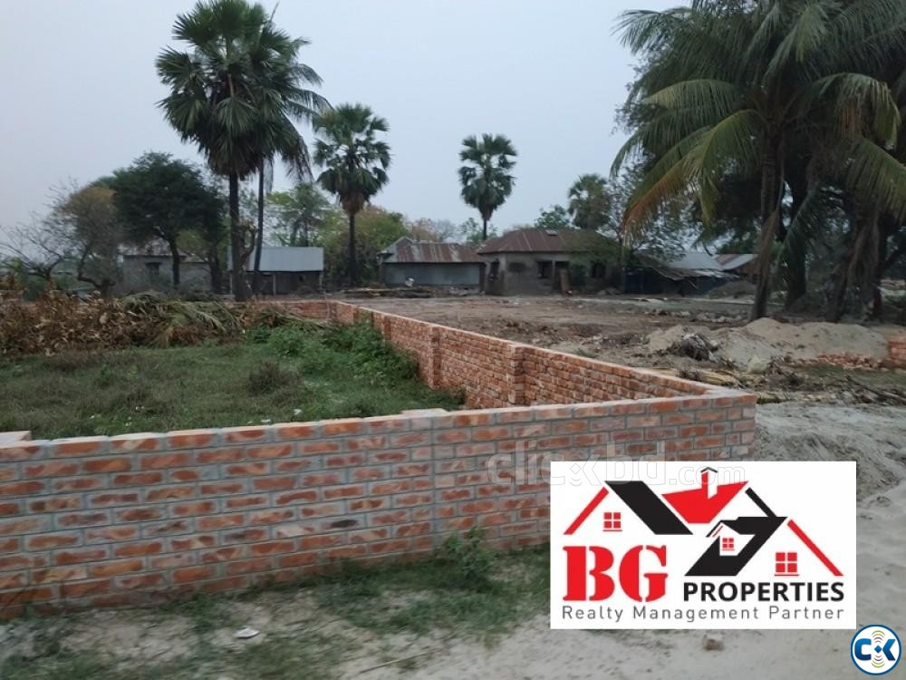 Near Madani Avn. 40 25 50ft road M Block 4 Katha Ready Plo | ClickBD large image 0