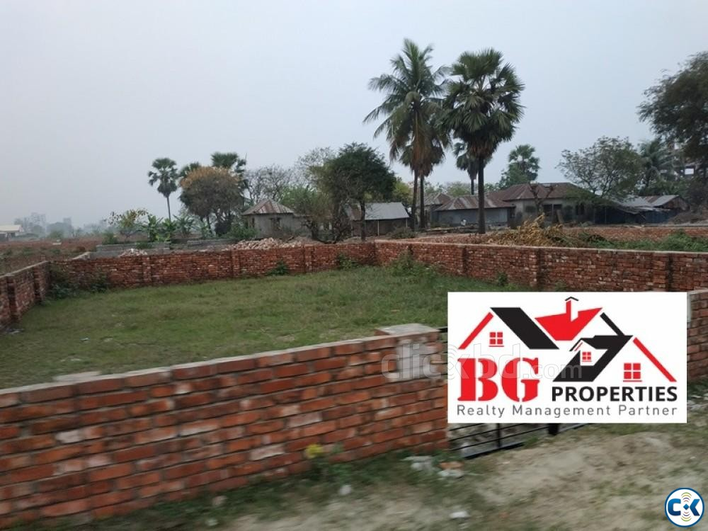 Near Madani Avn. 40 25 50ft road M Block 4 Katha Ready Plo | ClickBD large image 1