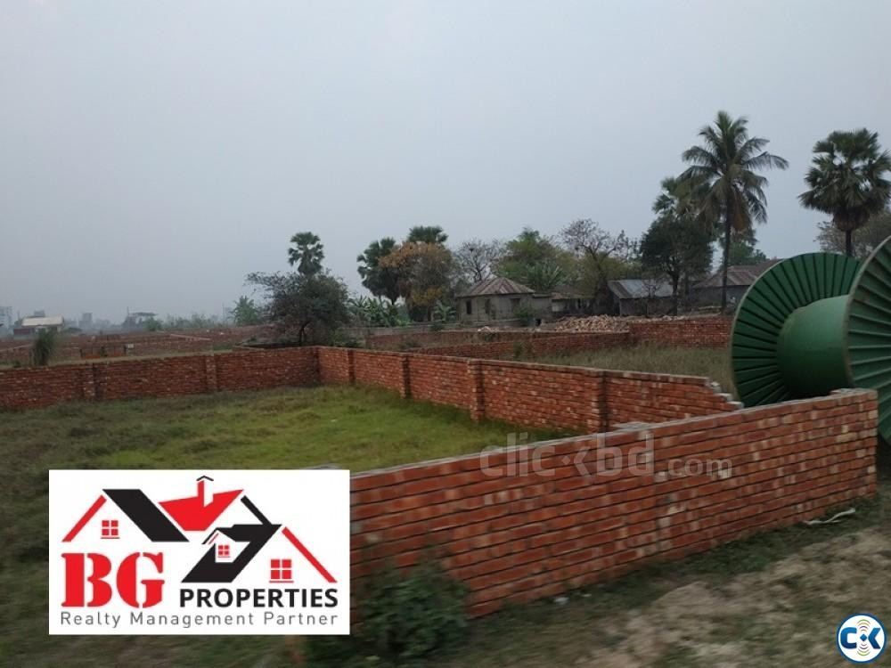 Near Madani Avn. 40 25 50ft road M Block 4 Katha Ready Plo | ClickBD large image 3
