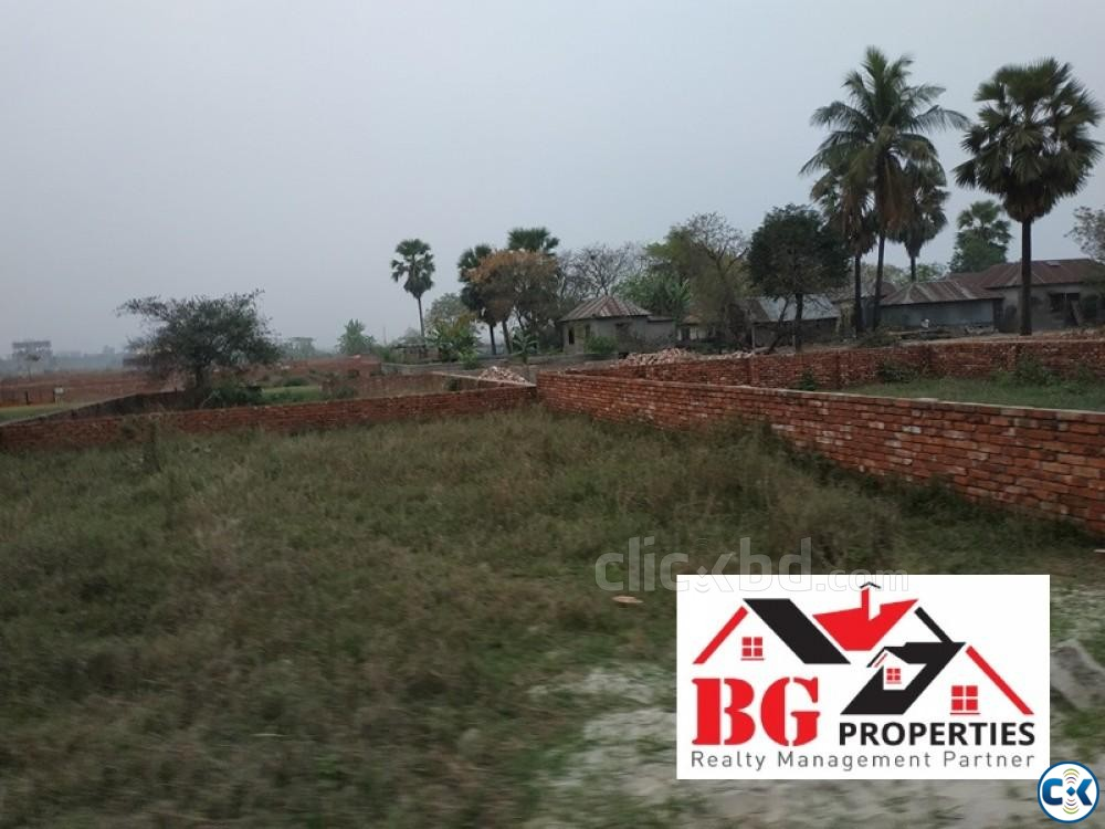 Near Madani Avn. 40 25 50ft road M Block 4 Katha Ready Plo | ClickBD large image 4