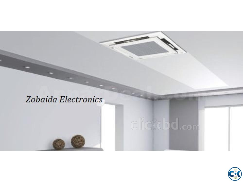 Celling Cassette type Cooling Fast Midea 3.0 ton ac | ClickBD large image 0