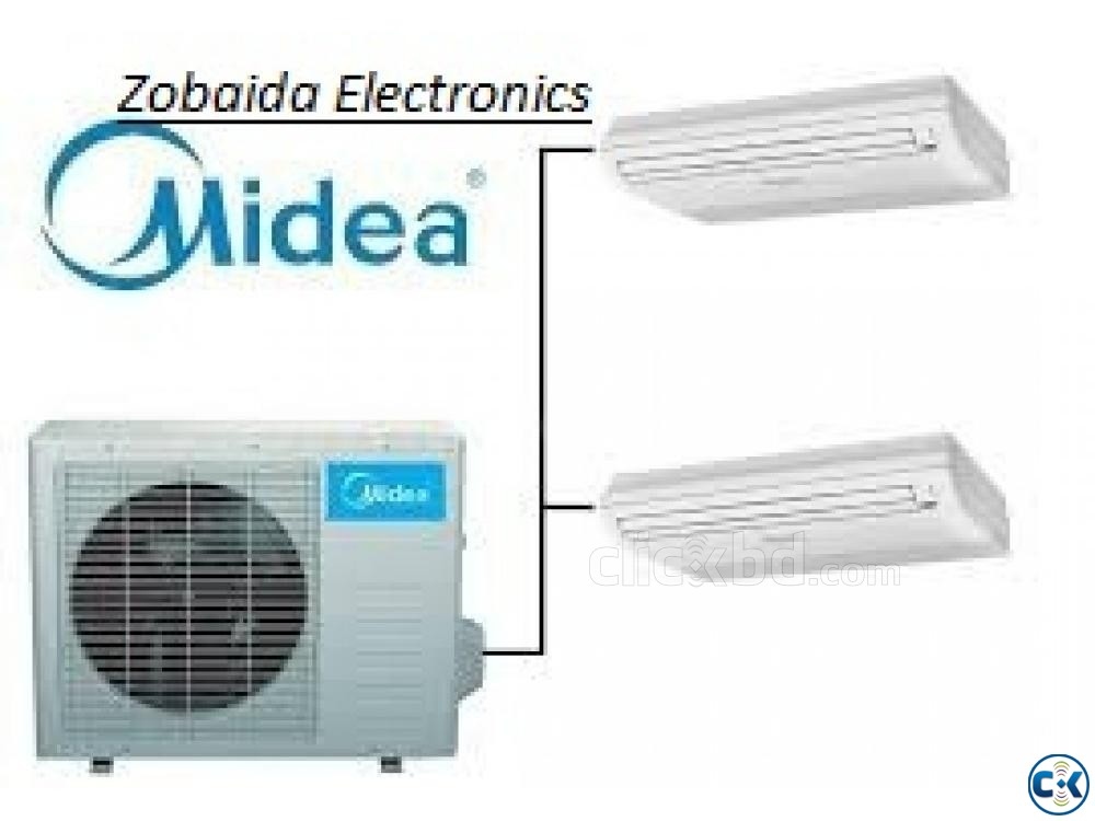 Celling Cassette type Cooling Fast Midea 3.0 ton ac | ClickBD large image 1