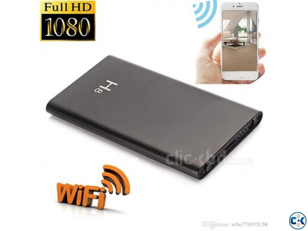 spy wifi camera Mobile Power Bank | ClickBD large image 0