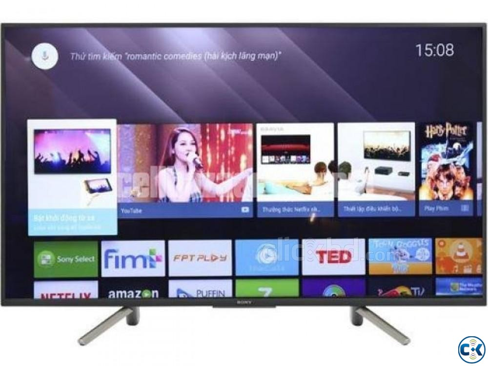 New Sony 50W660F 50 Full HD LED HDR Smart Tv 2019 | ClickBD large image 3