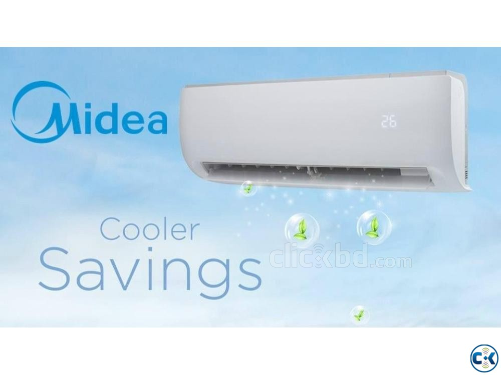 Midea 2.0 Ton Split Wall Mounted Type AC. | ClickBD large image 1