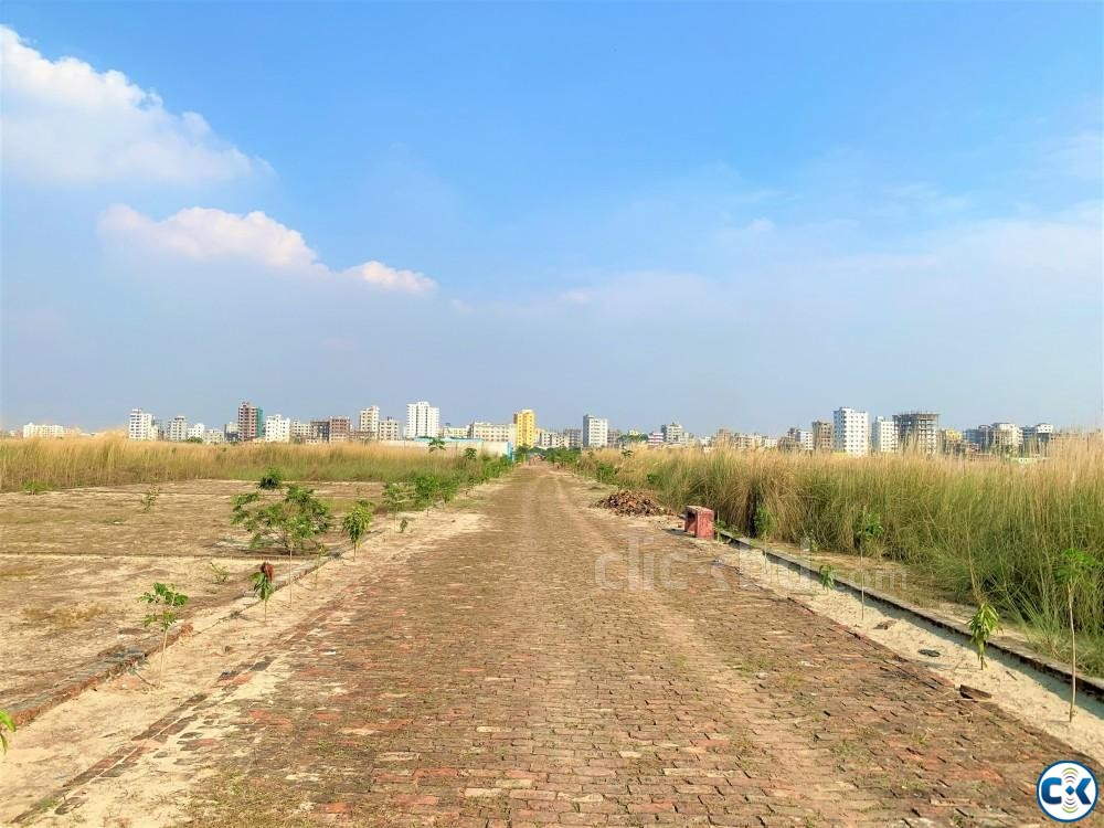 Net 5 katha Ready plot sale near Mohammadpur. | ClickBD large image 0