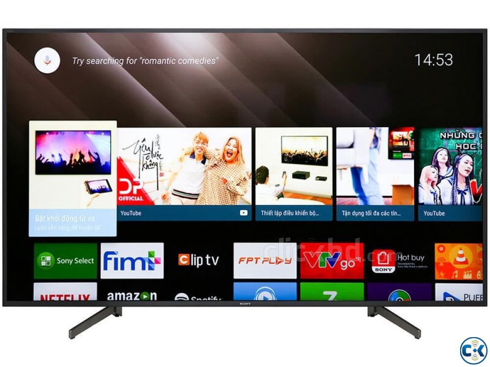 4K Android Sony Bravia Original 55 inch X8000G Latest Model | ClickBD large image 4