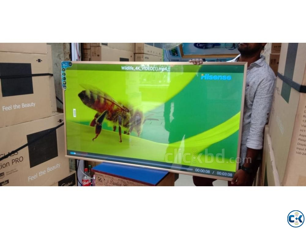 55 INCH FULL HD Smart Android LED TV NEW OFFER | ClickBD large image 0