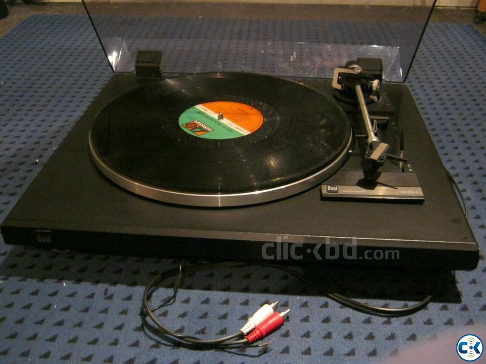 LP Record Player Brand Dual Made in Germany | ClickBD large image 0