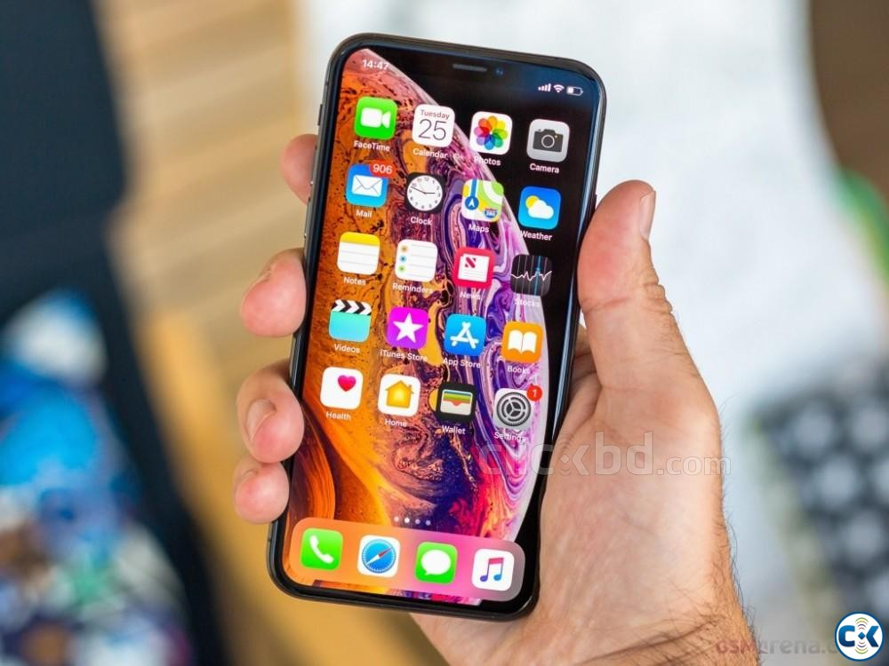 Apple iphone Xs Max Gold 512GB  | ClickBD large image 1