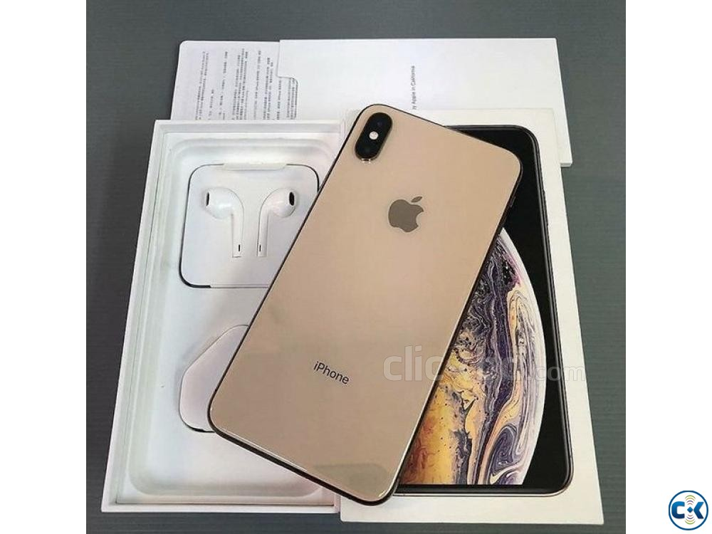 Apple iphone Xs Max Gold 512GB  | ClickBD large image 2