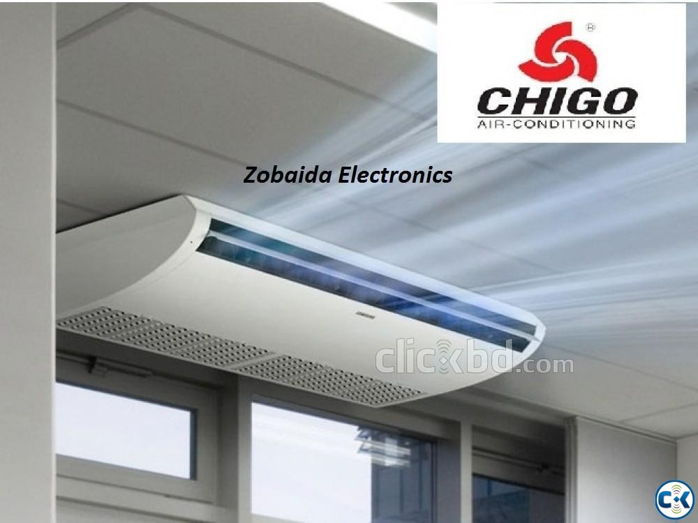 Made in china Chigo 5.0 Ton Ceiling cassette Type | ClickBD large image 0