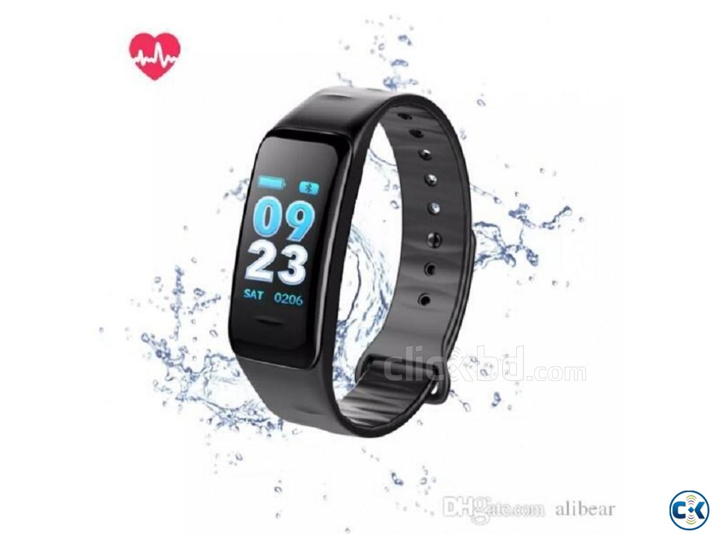 C1 Plus Smart Band Color Screen Blood Pressure Waterproof | ClickBD large image 3