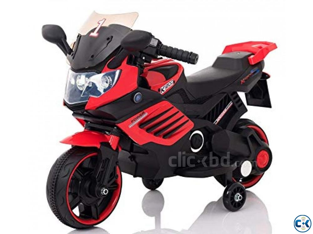 Baby rechargeable motorcycle | ClickBD large image 1
