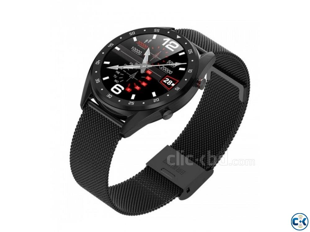 Microwear L7 Smartwatch Waterproof Heart Rate Monitoring | ClickBD large image 1