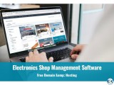 Electronics Shop Management Software