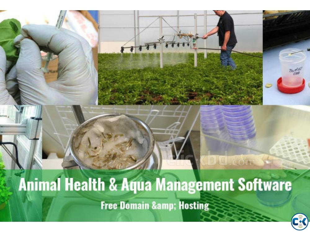 Animal Health and Aqua Management Software | ClickBD large image 0