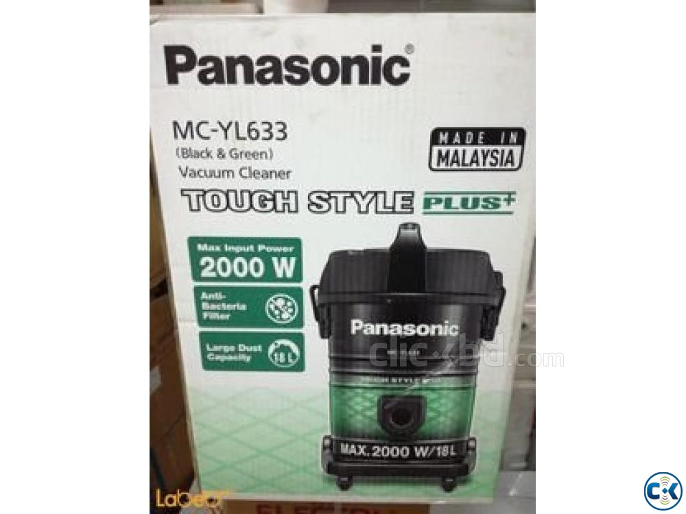 Panasonic Touch Style Plus 2000W Black- MC-YL633 Vacuum Cle | ClickBD large image 1