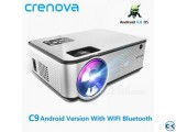 2800 Lumens Mini Led Projector C9 With Built in TV