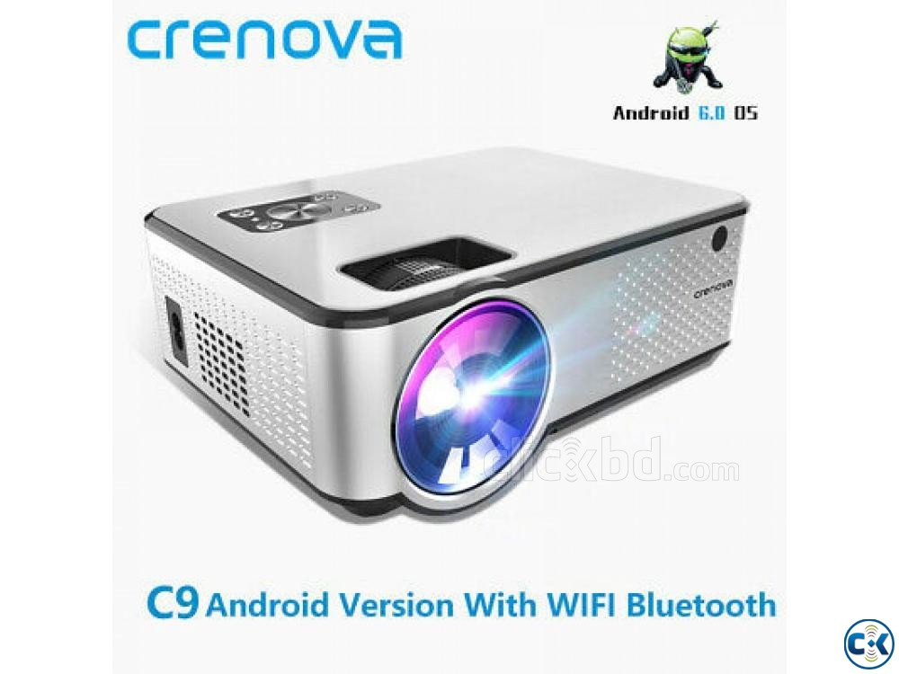 2800 Lumens Mini Led Projector C9 With Built in TV | ClickBD large image 0