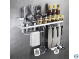 Wall Hanging Kitchen Rack Aluminium Kitchen Rack 23 Inch