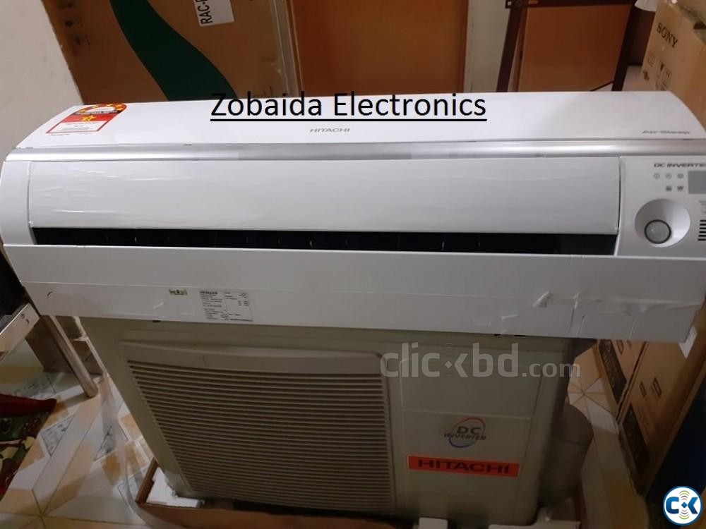 Hitachi 1.5 Ton Inverter AC Price in Bangladesh RAS-DX18CJ | ClickBD large image 0